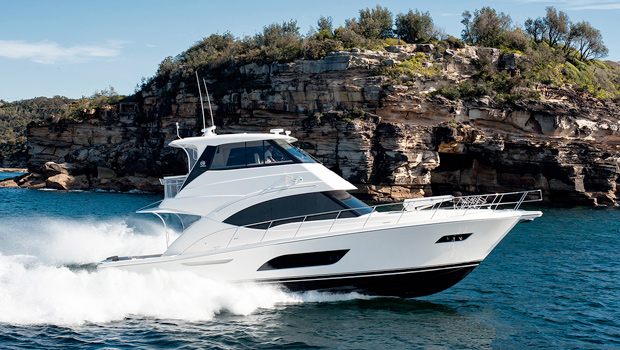 57 Enclosed Flybridge - Pod Drive - R Marine Sydney
