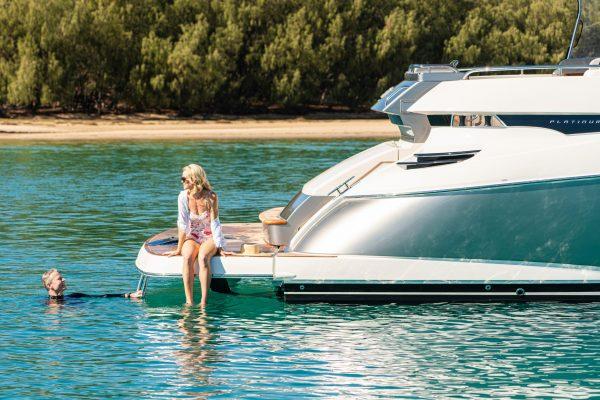 6000 Sport Yacht - LargeSwimPlatform