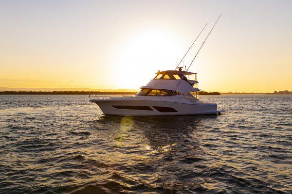 Riviera 50 Sports Motor Yacht Sunset 01 copy 2