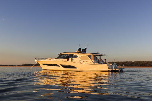 Riviera 645 SUV Anchored Sunset 09